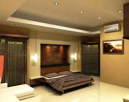diy bedroom ceiling ideas with white floor and tv wall design