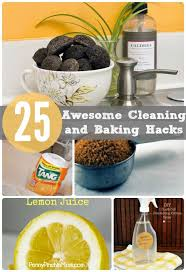 awesome cleaning product 25 cleaning and baking hacks hacks homekeeping