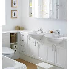 Shaker Style Bathroom Cabinet by Brilliant Houzz Bathroom Storage Cabinets Using Polished White