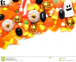 halloween candy corner border stock photo image 44639053