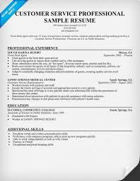 Examples Resume by 10 Customer Service Resume Samples Free Riez Sample Resumes