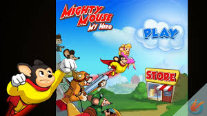 mighty mouse mighty mouse my hero iphone game trailer youtube