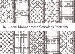 pattern is linear geometric abstract seamless pattern linear motif background stock