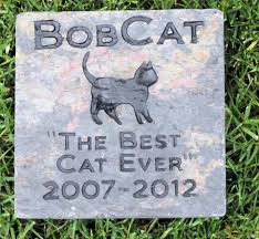 dog grave markers personalized cat memorial grave marker headstone 6 x 6 inch cat