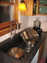 Brushed Nickel Faucet Kitchen by Fantastic Delta Kitchen Faucet Leaking From Neck In Brushed Nickel