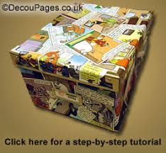 Decoupage Box Ideas - decoupage decopatch guide