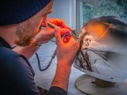 motocross helmet painting crazy custom paint paint u0026 airbrushing northern ireland