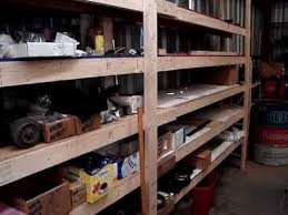 Wood Shelves Images by Wood Shelf Low Cost Easy 2x4 Construction Youtube