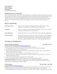 Resume Sample Objective Summary by Resume Examples Resume Objective Summary Examples Sample Of Rufoot