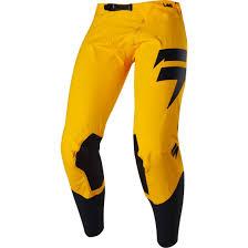 shift motocross gear shift blue label risen 2017 yellow pant motocard