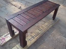 do it yourself home projects simple outdoor bench from pallets do it yourself home projects