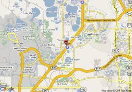 Orlando Florida Comfort Inn Map Of Comfort Inn Lake Buena Vista Orlando