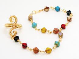 multi colored gold bracelet images Gold slave bracelets collection custom made by jen slave jpg