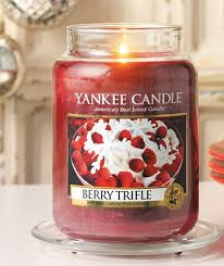 yankee candle berry trifle housewarmer jar berry trifle and berry
