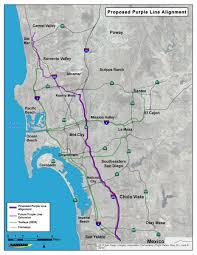 San Diego Trolley Map Sandag On Twitter