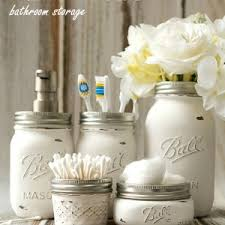 craft ideas for bathroom jar storage containers jar crafts