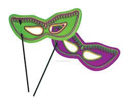 mardi mask plastic mardi gras masks w clip library