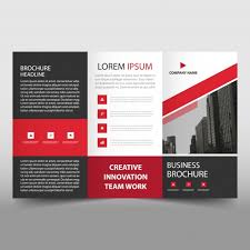free tri fold business brochure templates trifold business flyer template vector free