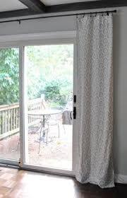 Curtain For Sliding Glass Doors Sliding Glass Door Curtain Rod Doors Garage Ideas