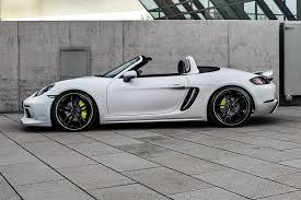 modified porsche boxster techart adds muscle to the porsche 718 cayman by car magazine