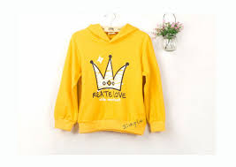 online shop mens 100 cotton thin plain yellow pullover hoodies