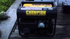 champion 46539 generator review make a smart choice