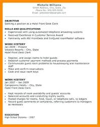 Front Desk Manager Resume Sample Hotel Resume Hotel General Manager Resume Sample Sample