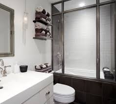 bathrooms bathroom decor with decal towel hooks and white towels