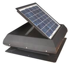 solar attic vent fan solar powered roof mount exhaust fan
