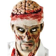 zombie makeup spirit halloween halloween zombie brain with bandage headpiece accessory