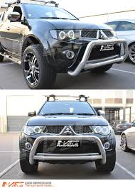 mitsubishi triton 2014 black ccfl angel eyes projector head lights for mitsubishi triton