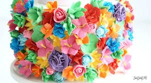 bold colors bold color wedding cake susucre