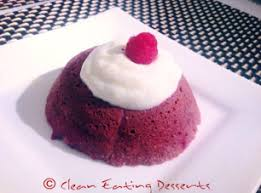 red velvet mug cake u2013 clean eating desserts