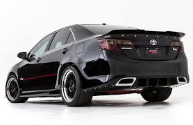 all black toyota camry camry rowdy edition
