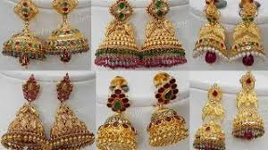 buttalu earrings beautiful kasu buttalu temple earrings top 15 designs free