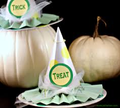 Halloween Crafts Witches by Embellished Paper Mache Witch Hats And Halloween Project Parade