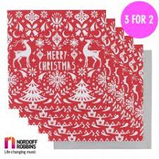 charity christmas cards 3 for 2 paperchase