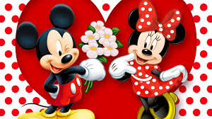 hd background mickey mouse and minnie mouse love couple heart full hd 1920 1080