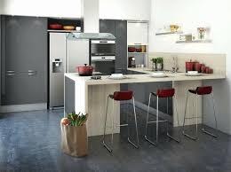 table de cuisine pour petit espace cuisine quipe en u amazing cuisine equipee pour cuisine