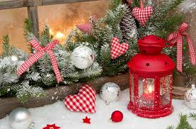 winter snow new year decoration