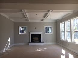 coffer ceilings coffer ceiling color agreeable gray walls