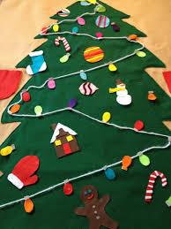 giant felt christmas tree