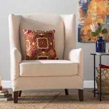 wingback chair slipcovers wing chair slipcovers you ll wayfair