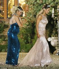 Wedding Dress Cast Billie Faiers Leads The Towie Cast At Prince And Princess Themed