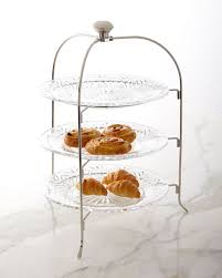 3 tier serving stand godinger dublin 3 tier serving stand