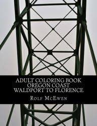 Title Adult Coloring Book Oregon Coast Waldport to Florence