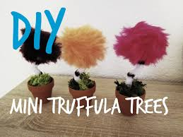 Pom Trees The Lorax Diy Mini Truffula Trees Youtube