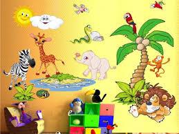 Jungle Wall Decal For Nursery Jungle Wall Decal For Nursery Wall Decals Pinterest