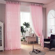 Pink Ruffle Blackout Curtains Curtain Elegant Decor Ruffled Pink Curtains Ideas Ruffle