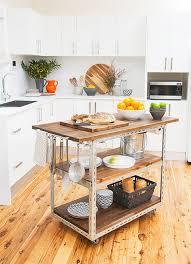 make kitchen island make it diy industrial kitchen island curbly